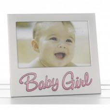Baby Girl Glitter 4X6 Frame