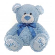 8 inch Its a boy blue teddy bear